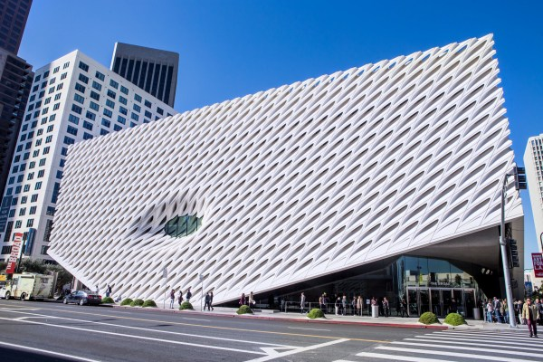 L.' Broad Museum Named Top Culture Destination Of 2016 Architectural Digest
