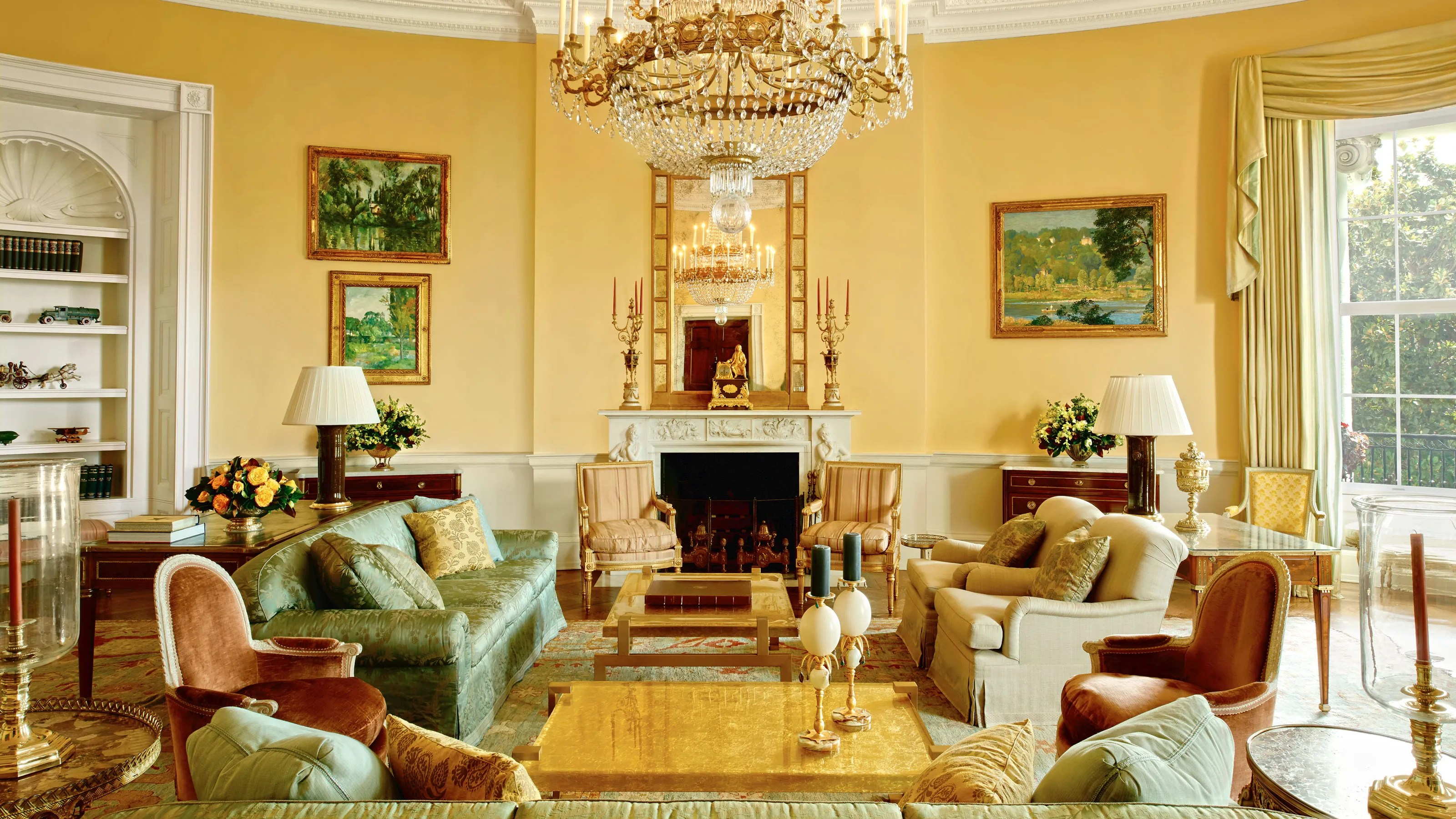 The Obama Familys Stylish Private World Inside the White House Photos  Architectural Digest