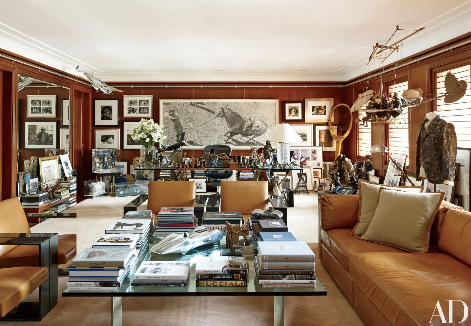 Ralph Laurens Refined Houses and Chic Madison Avenue Office  Architectural Digest
