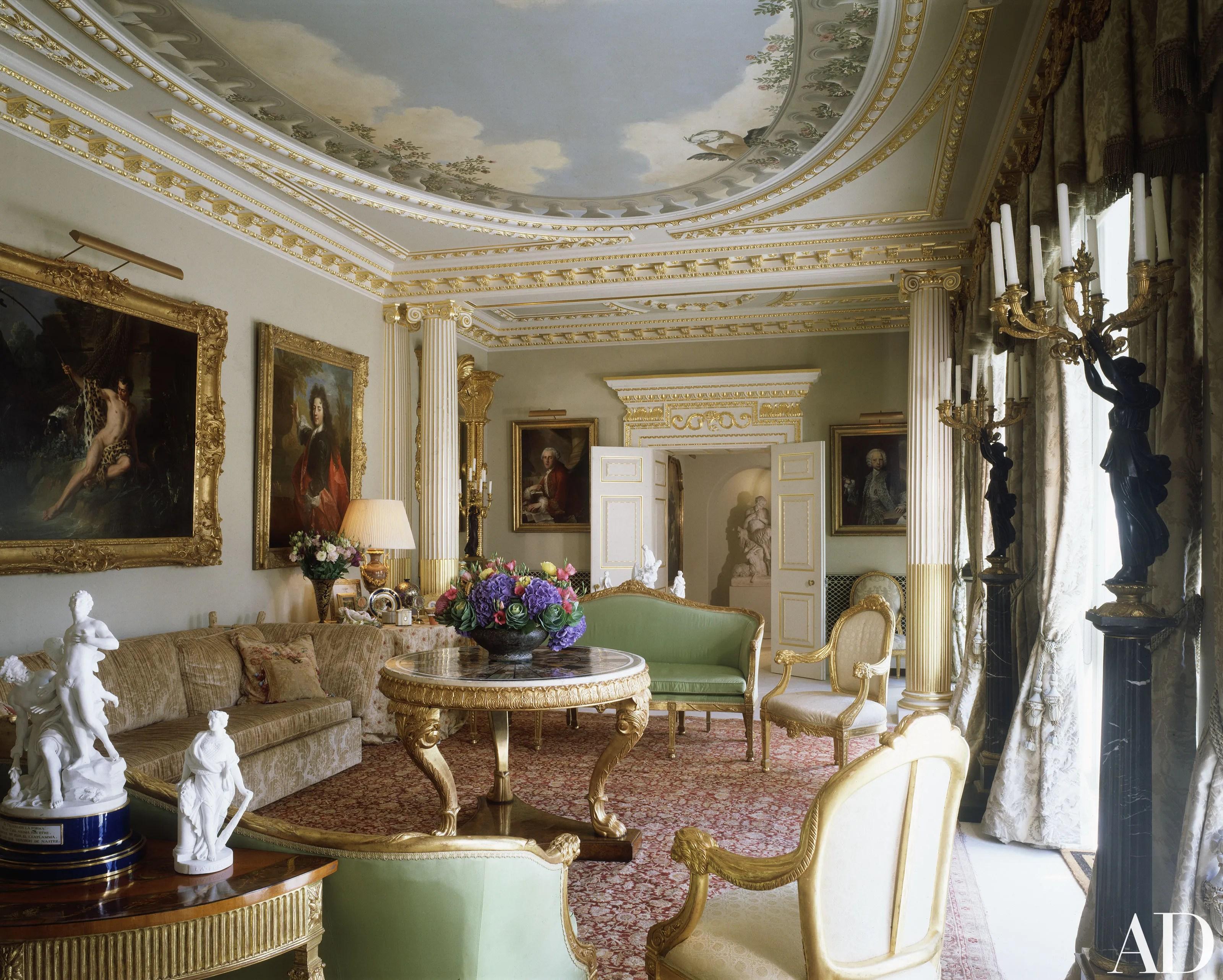 Elton Johns London House Photos  Architectural Digest