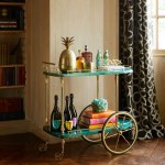 5 Bar Cart Ideas How To Style A Bar Cart Architectural Digest