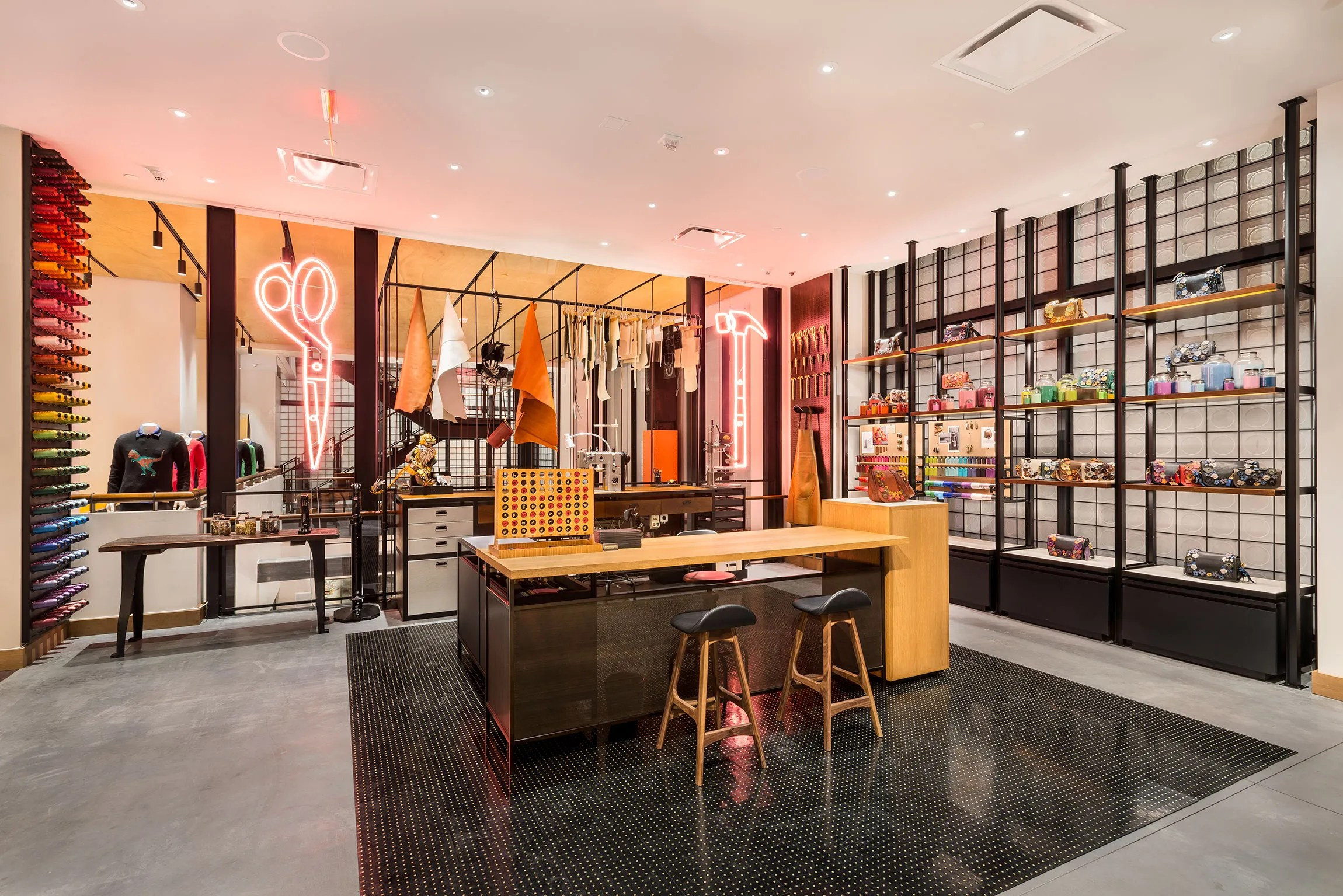 Coachs New Store Is An Ode To New York And The American