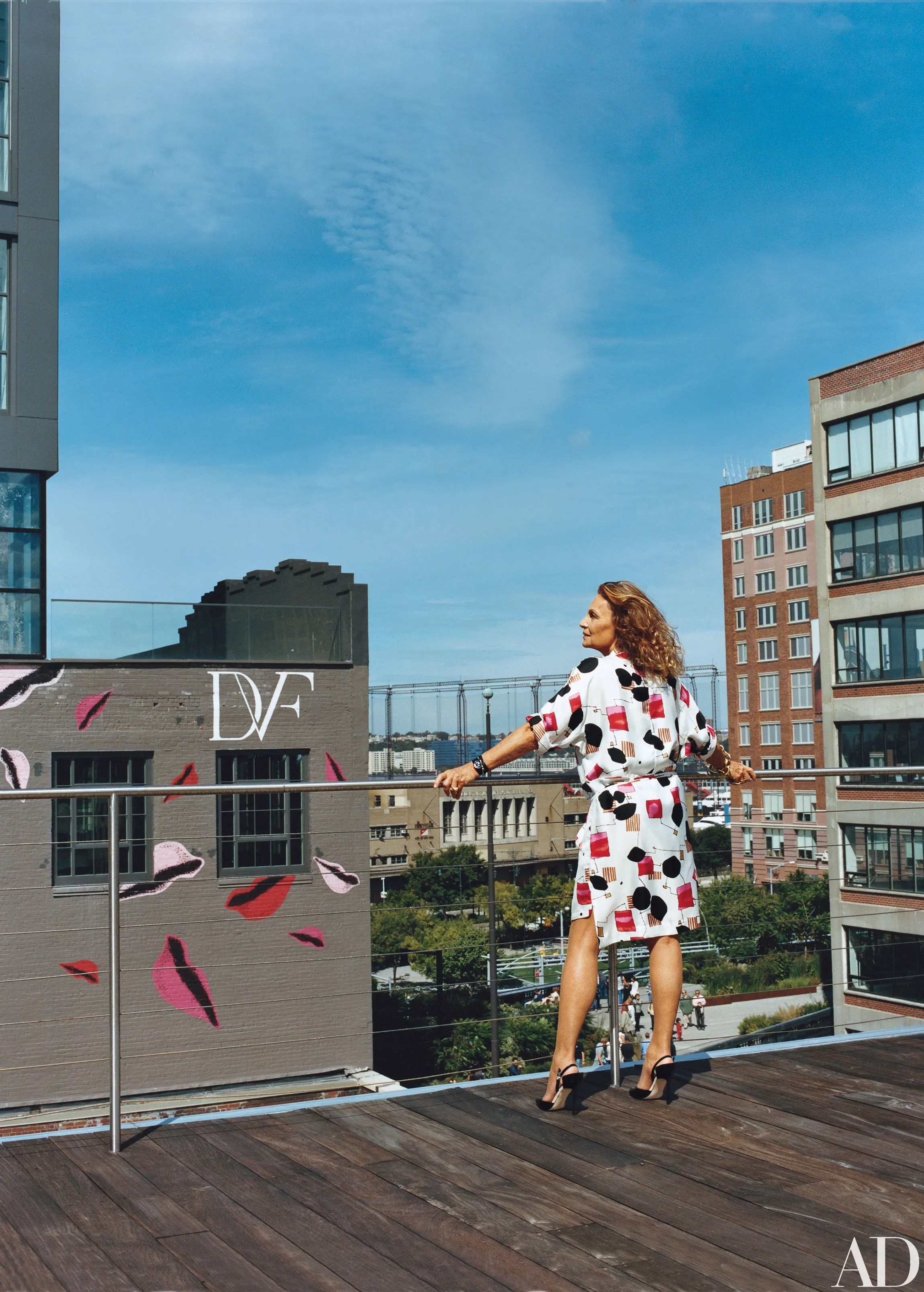 Inside Diane von Furstenbergs Home in Manhattan