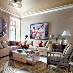 Sectional Living Room Design Furniture Table 21 Sofas That Make The Architectural Digest A Tina Barney Photograph Presides Over This Manhattan Family Decorated By Michael S Smith Jasper Sofa Is Clad In Schumacher Chenille