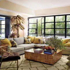 Sectional Sofa Designs For Living Room Table Lamps 21 Sofas That Make The Architectural Digest In Accessories Designer Fiona Kotur S Hong Kong House Sitting Custom Made Is Dressed A Designtex Fabric With Pillows Of Lee