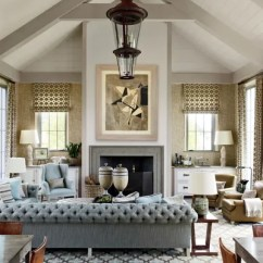 Sectional Sofa Designs For Living Room Diamond Furniture Sets 21 Sofas That Make The Architectural Digest In This Bridgehampton House Field S Chesterfield Designed By Home Decorator Steven Gambrel And Manufactured Dune Is Clad