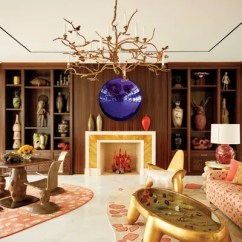 Art Deco Living Room Ideas Contemporary 2018 How To Add Style Any Architectural Digest At A Miami Home Decorated By Frank De Biasi An Anish Kapoor Work Hangs Over The