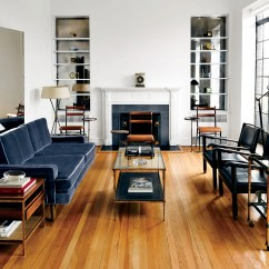 Decorating Small Living Room Apartment Navy Rug 8 Ideas That Will Maximize Your Space Architectural Digest