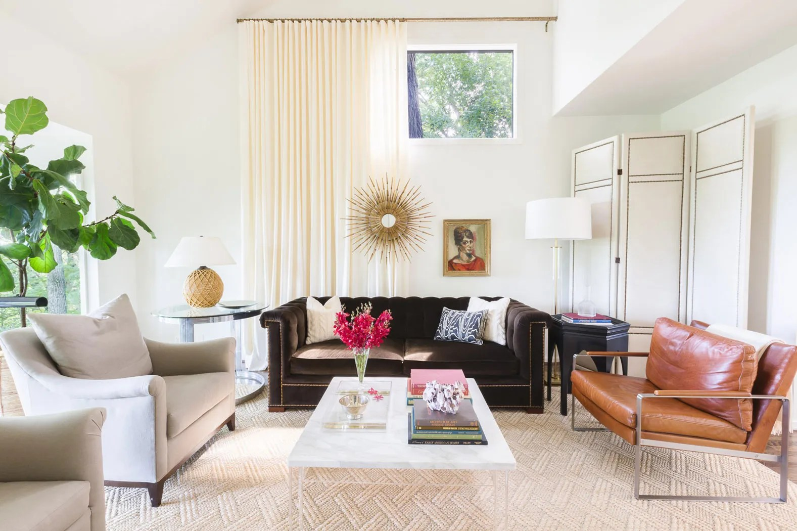 An Amazing Beforeandafter Living Room Renovation