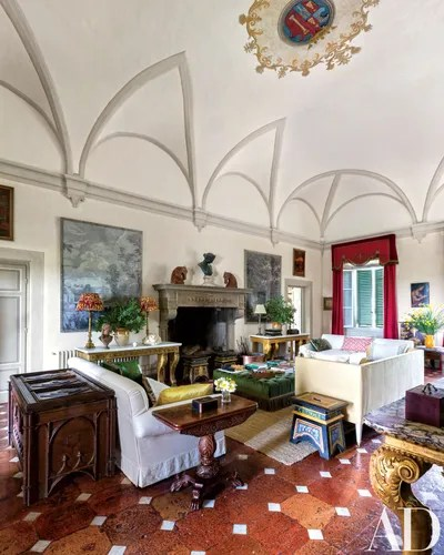 Musician Ned Lambtons House In Tuscany Architectural Digest