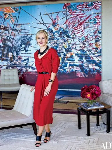 Jewelry Designer Kara Rosss Glamorous Penthouse in New York City  Architectural Digest