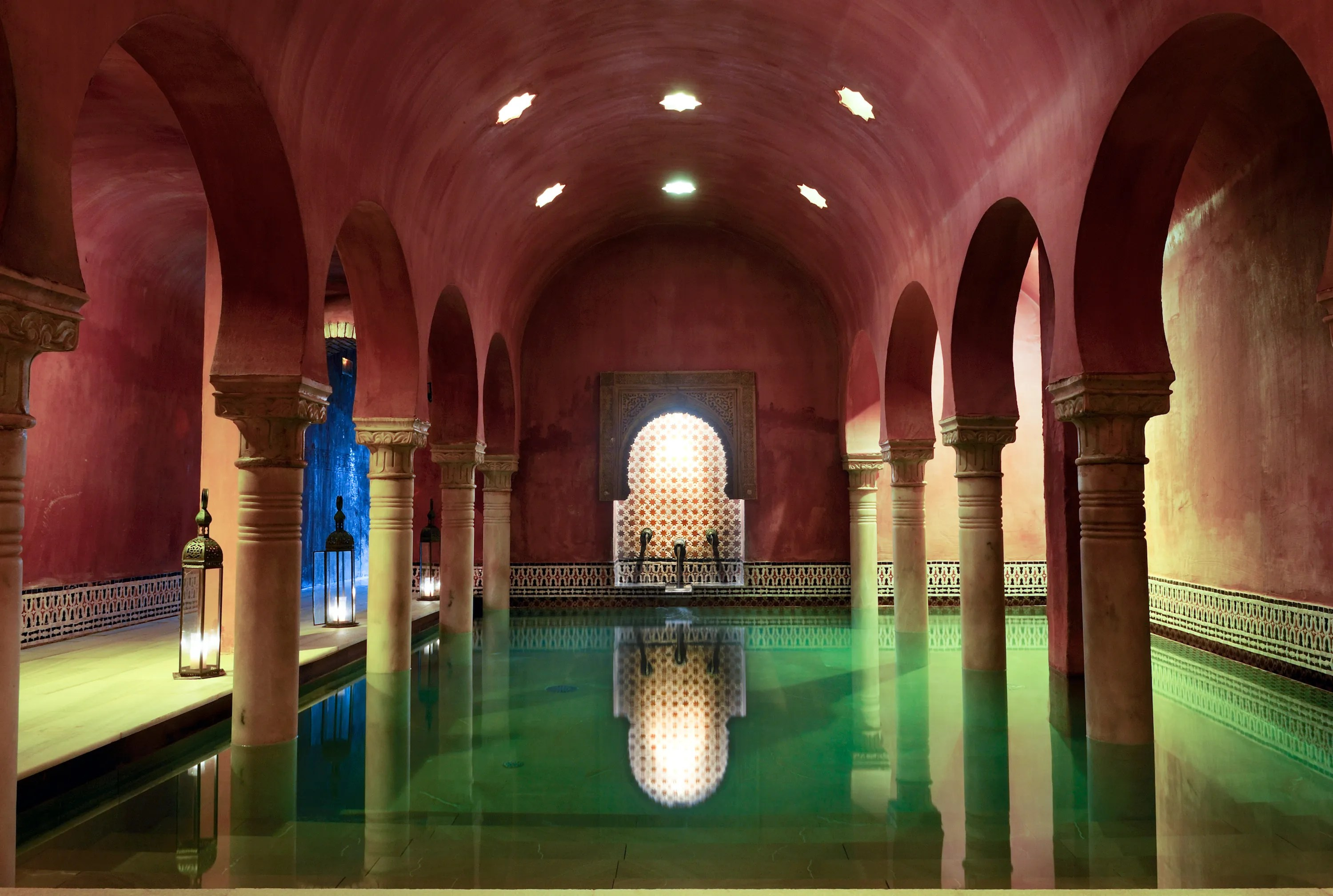 Baños Hammam Cordoba Most Relaxing Turkish Baths Around The World Photos