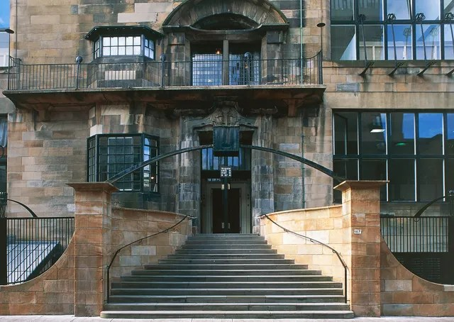 7 of the Best Art Nouveau Buildings in Glasgow Photos