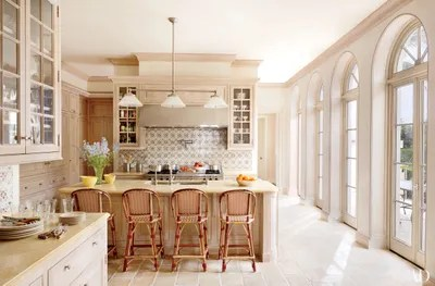 kitchen backsplash design cabinet hinge types 23 tile ideas inspiration from solar antique tiles distinguishes the and adds a charming motif in this palm