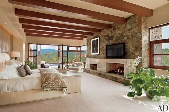 28 beautiful bedroom fireplaces photos   architectural digest