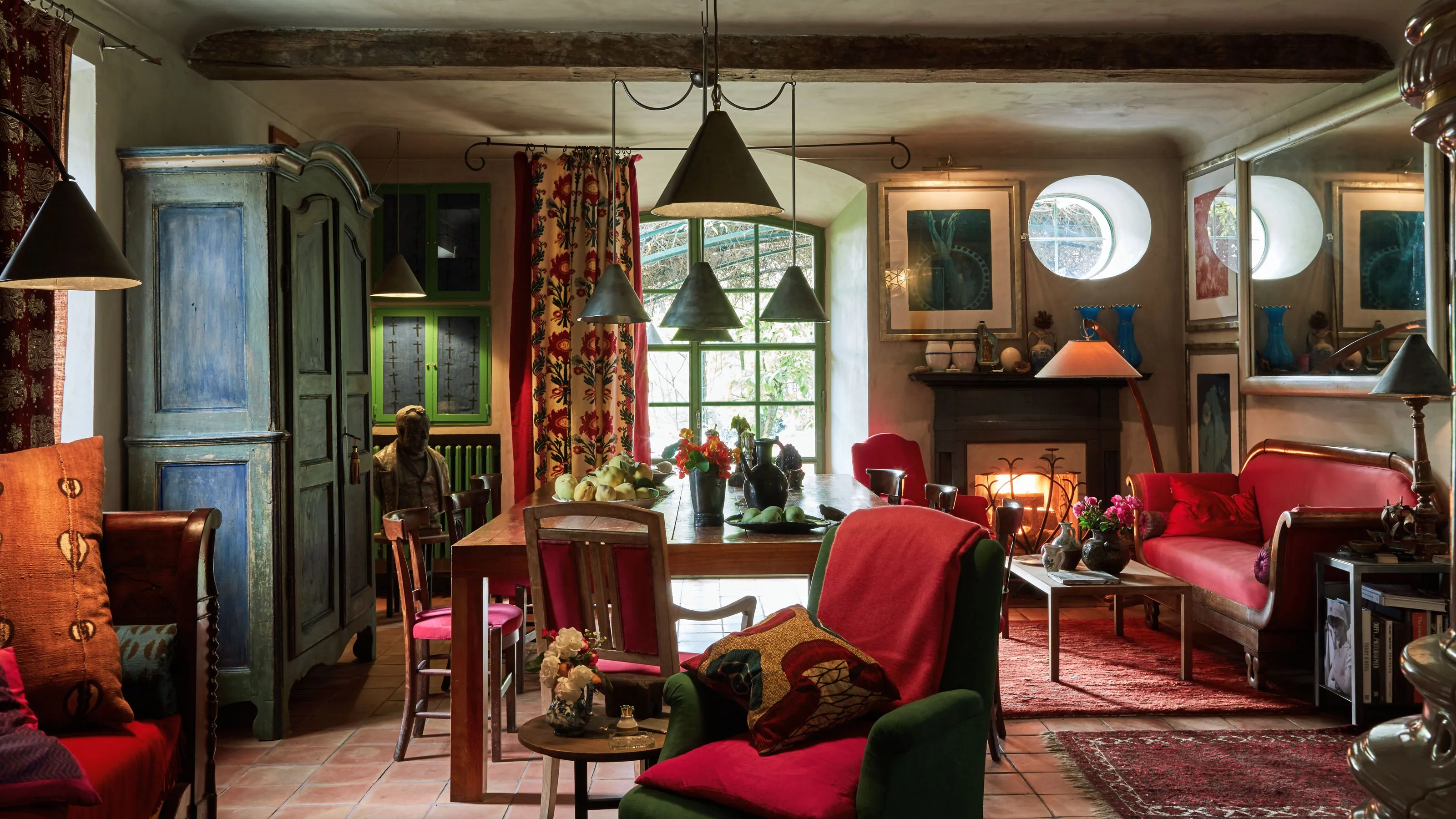 Inside Photographer Oberto Gilis Dreamy Farmhouse in Northwest Italy  Architectural Digest