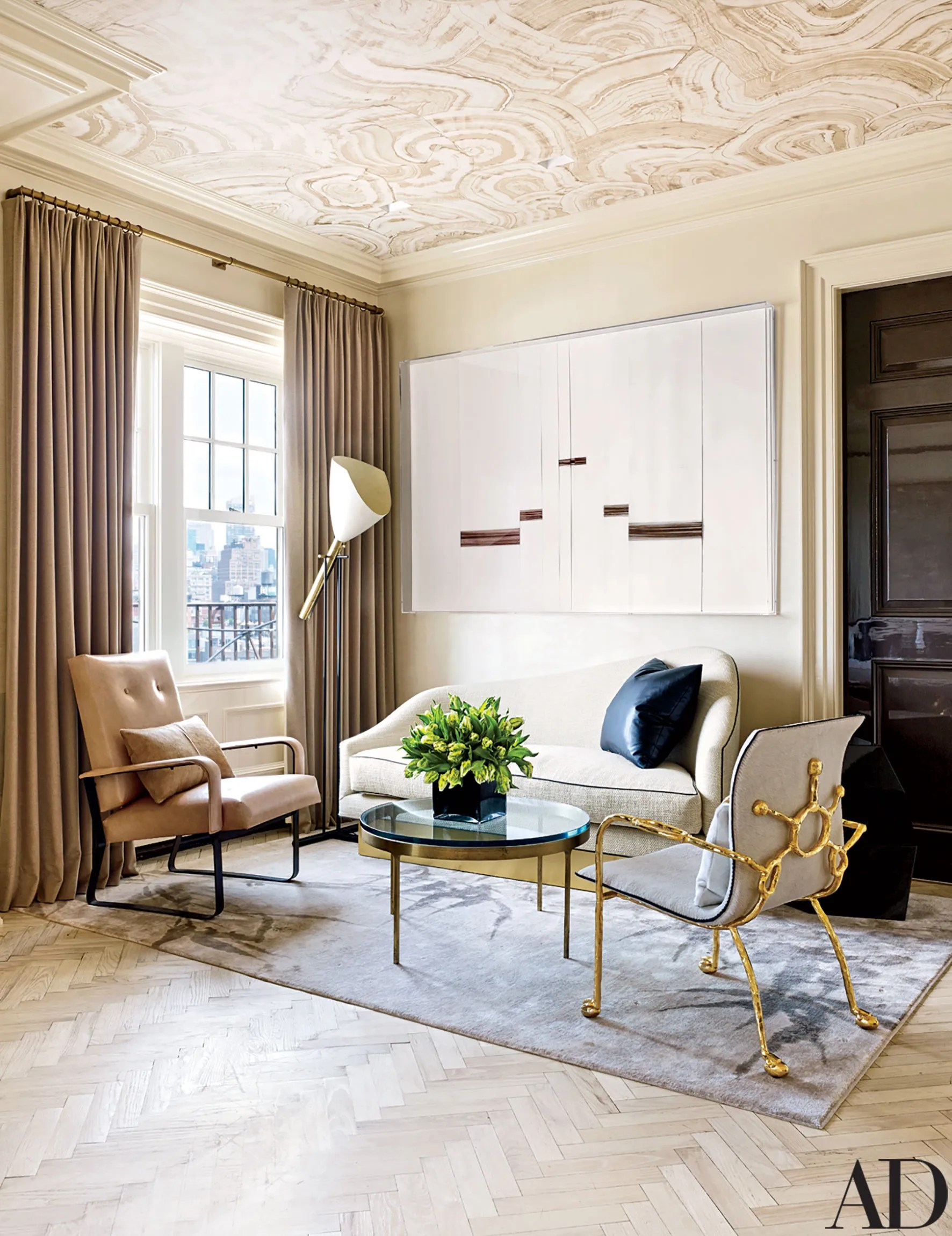 Rafael de Crdenas Creates a Refined Penthouse in