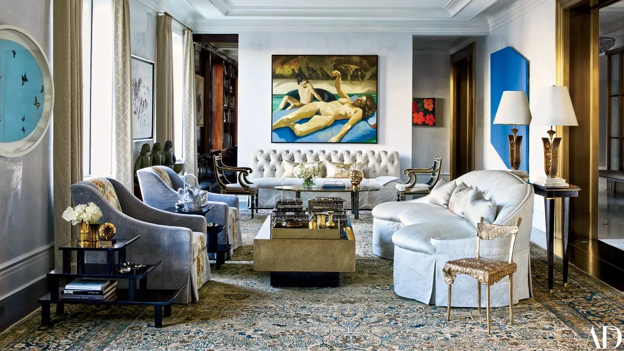 Art Takes Center Stage In A Redesigned Manhattan Home