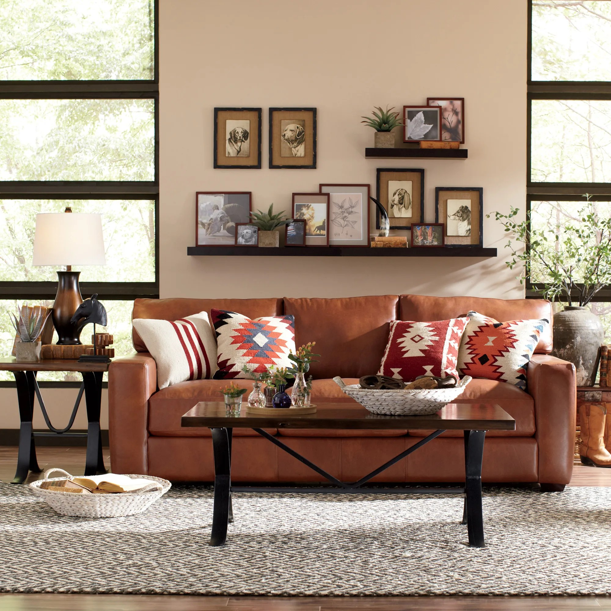 The Most Stylish Leather Sofas Photos  Architectural Digest