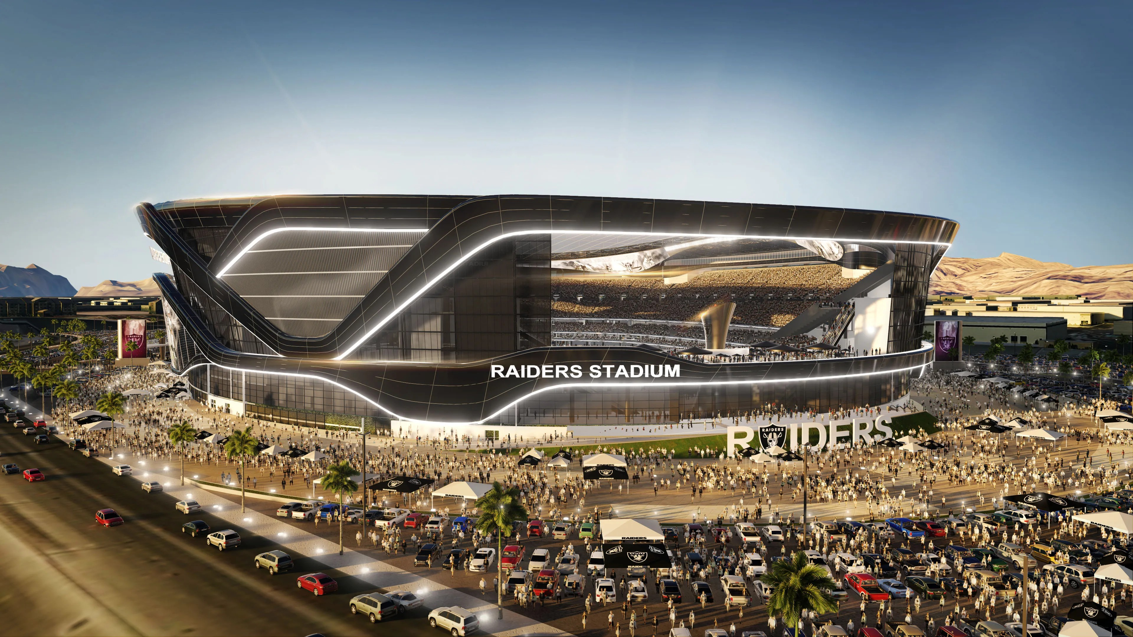Image result for las vegas raiders stadium