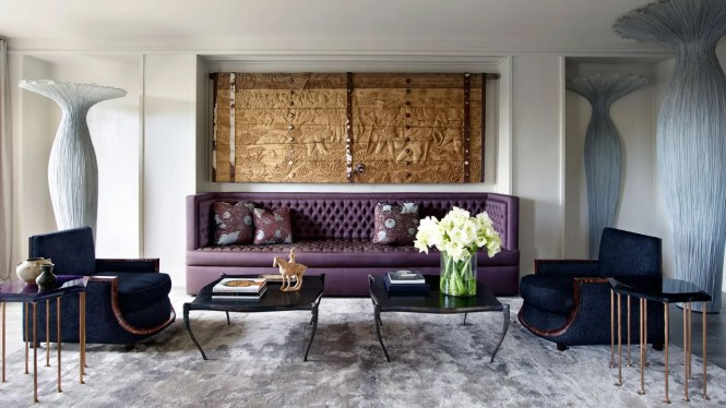 A Glamorous New York Apartment That Pays Homage To Its Art Deco Past