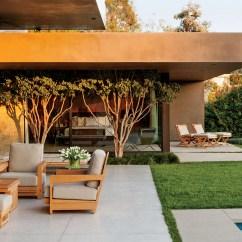 Kitchen Counter Designs Back Splash Ideas Marmol Radziner A Modernist Home In Beverly Hills ...