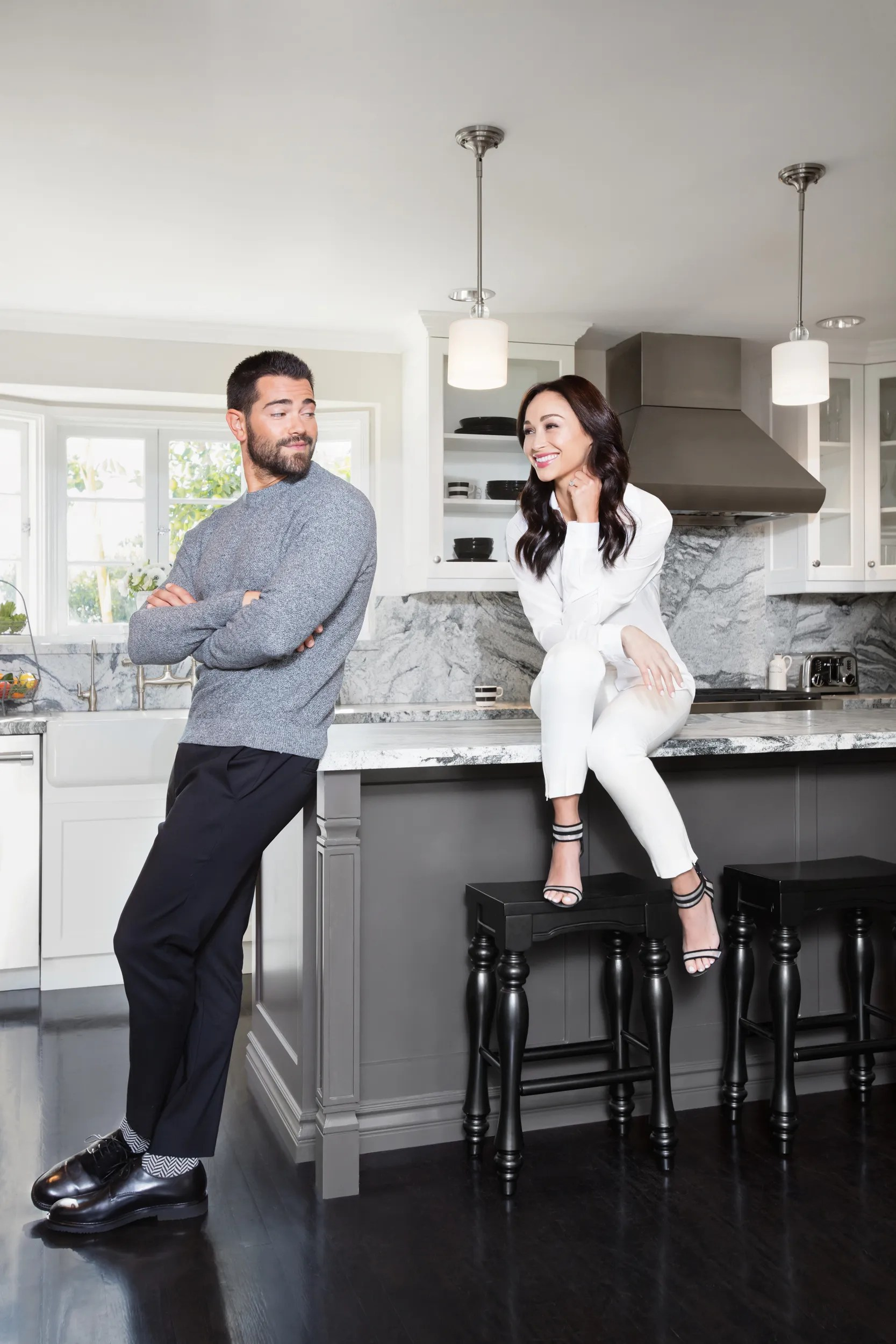 Jesse Metcalfe and Cara Santanas Los Angeles Home  Architectural Digest