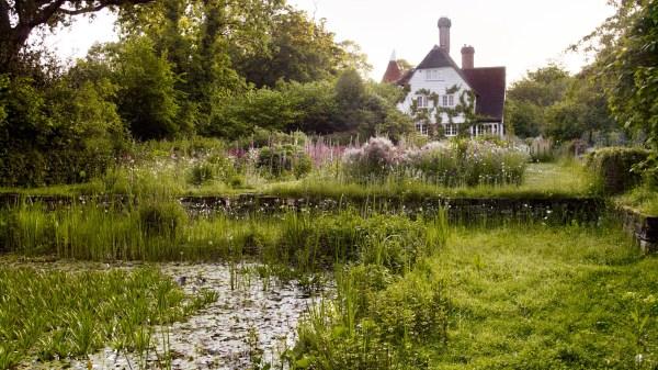 magical garden landscapes of