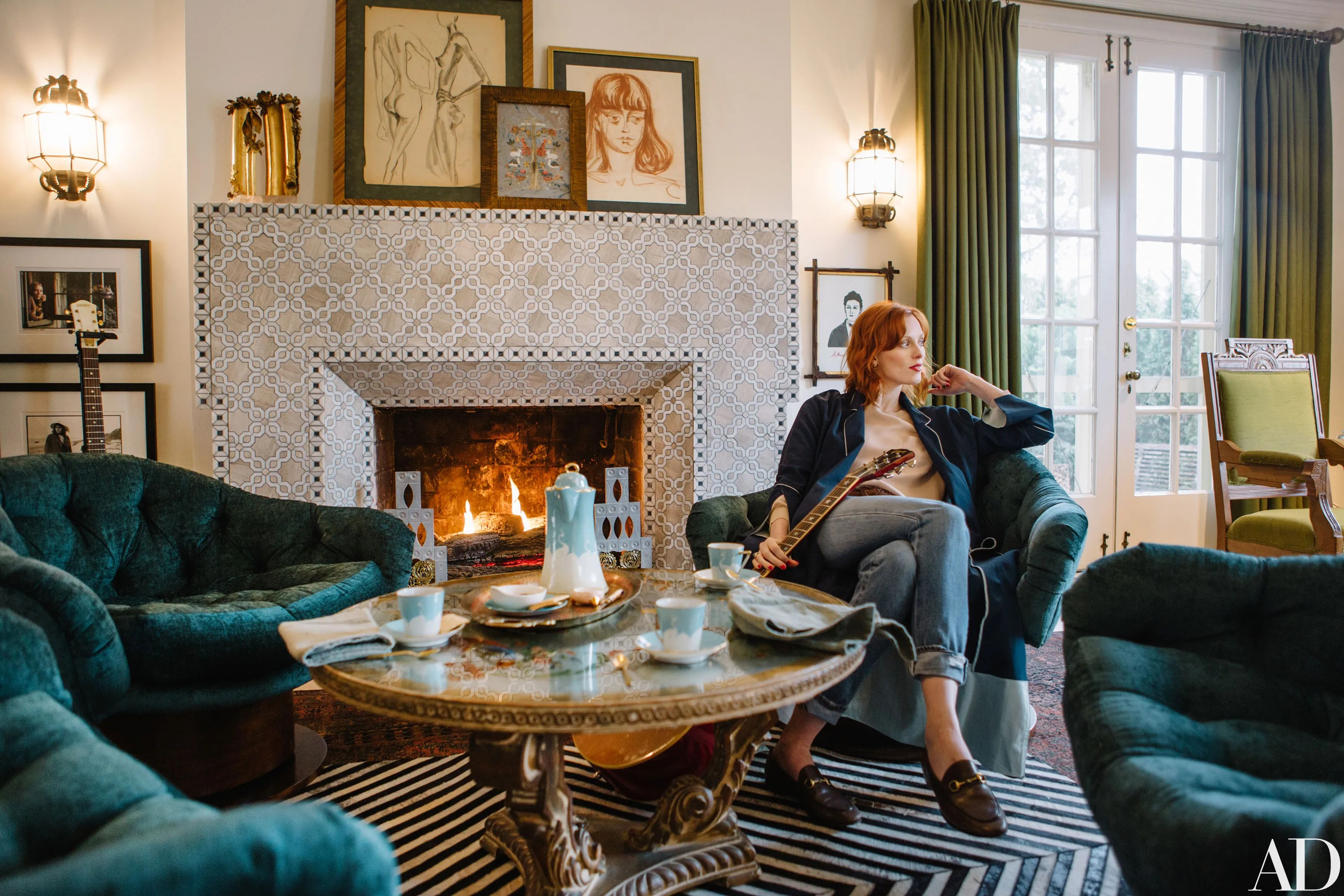 Tour Karen Elsons House in Nashville  Architectural Digest