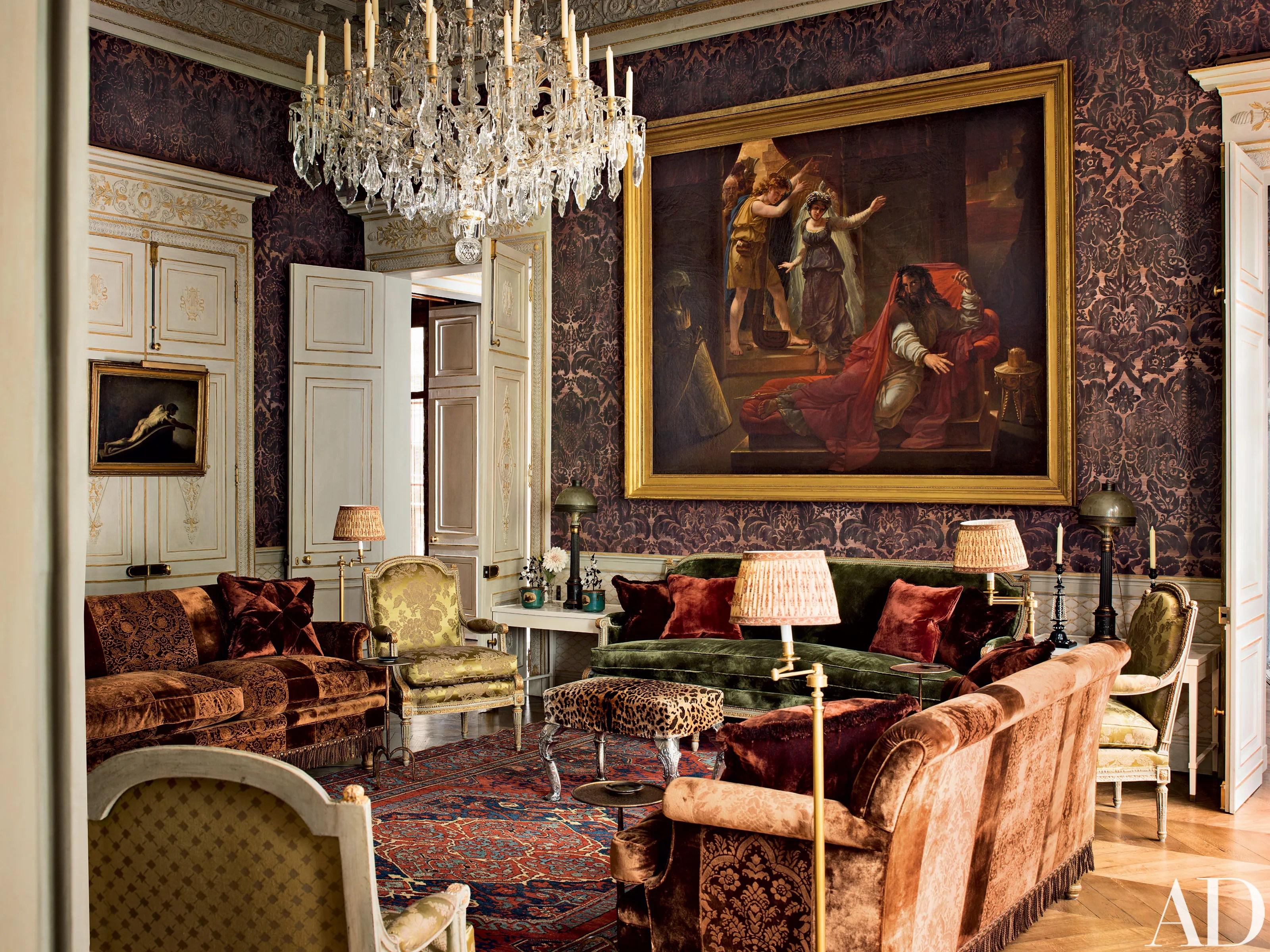 See How Pierre Berg Transformed the Enchanting Top Floor