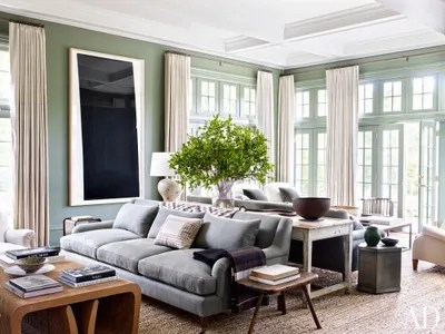 living room paint ideas pictures wall decor tv and inspiration from ad architectural digest the of edie parker accessories designer brett heymans connecticut family home is painted in