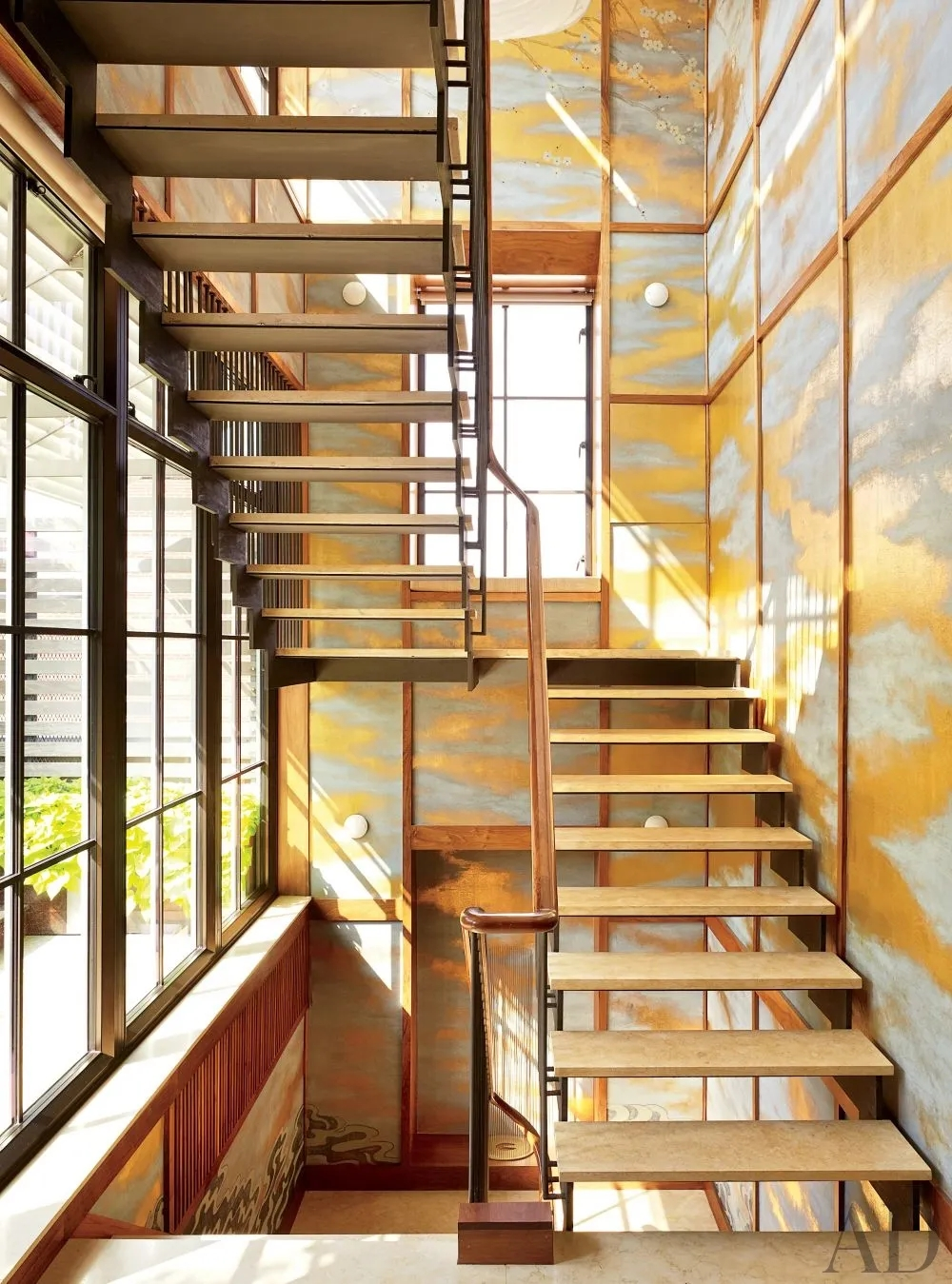Types Of Stairs Explained Architectural Digest | Designs Of Stairs Inside Small House | Stone Tiles | Decorating Ideas | Stair Treads | Space | Staircase Makeover