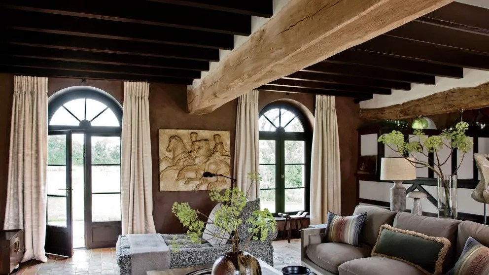 how much to paint living room study table in use textured your home architectural digest rustic by jeanlouis deniot loire valley france