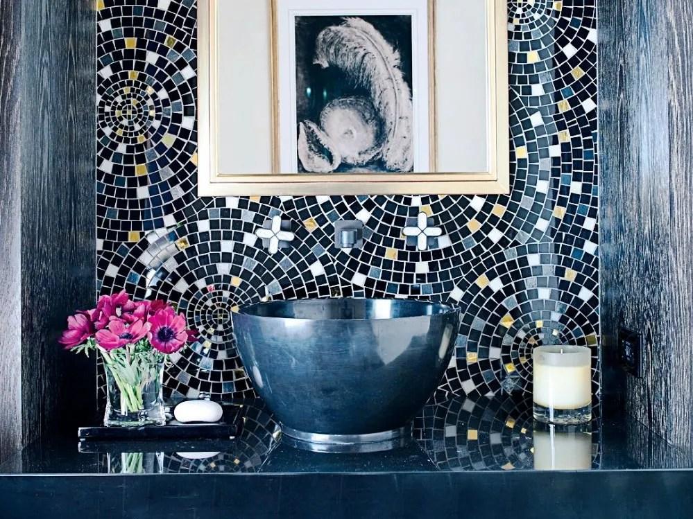 creative bathroom tile inspiration for