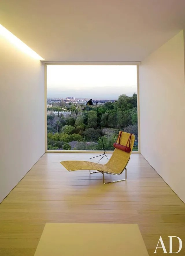 living room chairs modern design power reclining inside designer john pawson's minimalist interiors photos | architectural digest