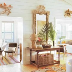 Beachy Living Room Curtains Four Chair Design 21 Rooms That Do Beach Inspired Decor Right Architectural In Designer Amelia T Handegan S Folly South Carolina Bungalow The Sitting Area Was