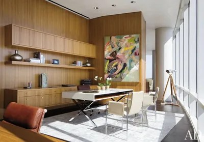 living room office decorating ideas for small with fireplace 50 home design that will inspire productivity many of the elements sarah and h ross perot jr s