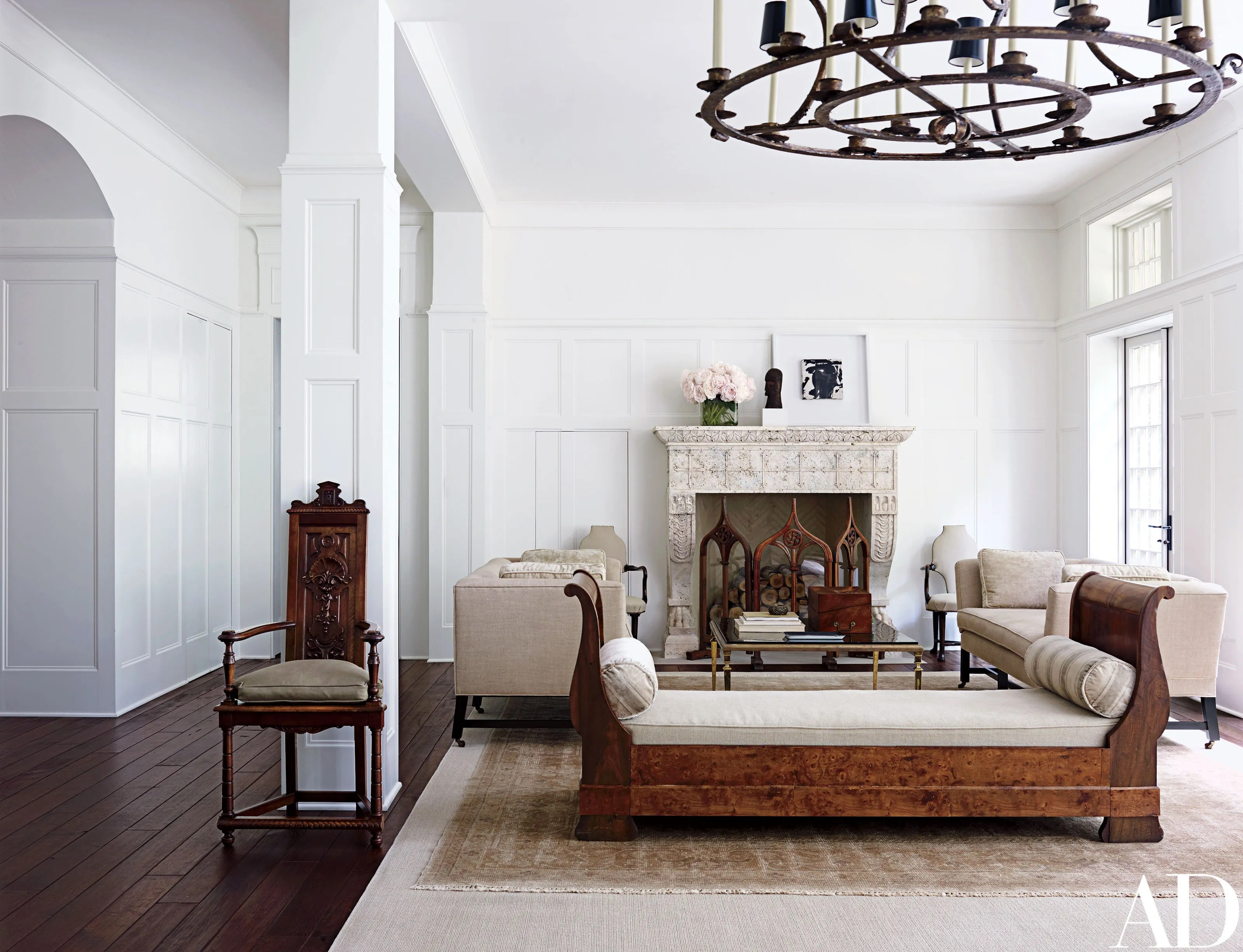 A Tudor Revival Home in Washington, D.C. is Updated to