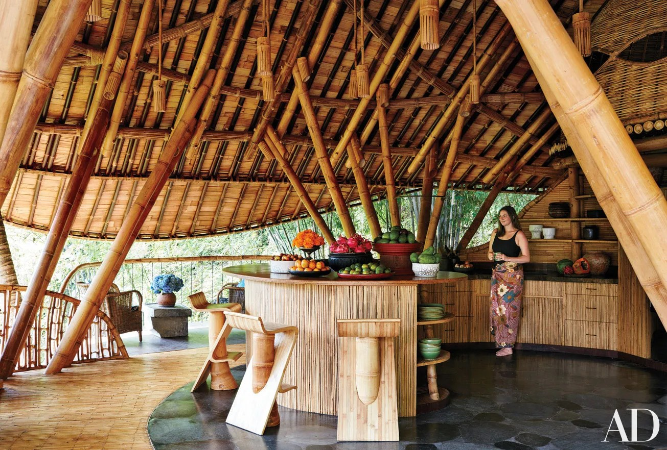 David Hornblows House in Bali is Constructed Almost