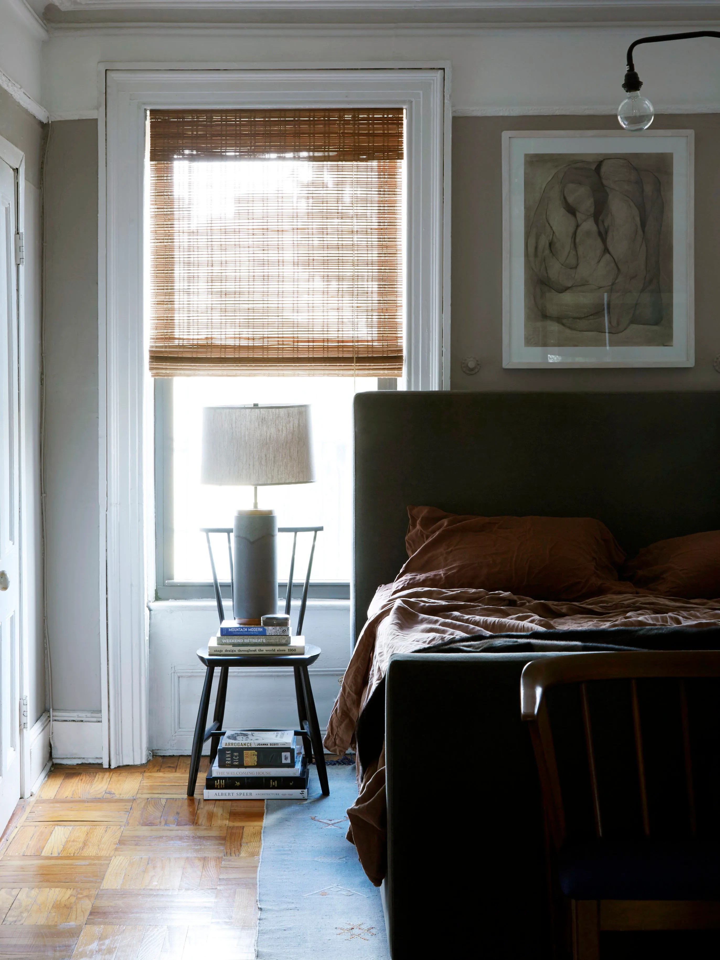red and cream curtains for living room ergonomic chairs the why bamboo blinds are our #1 window obsession ...