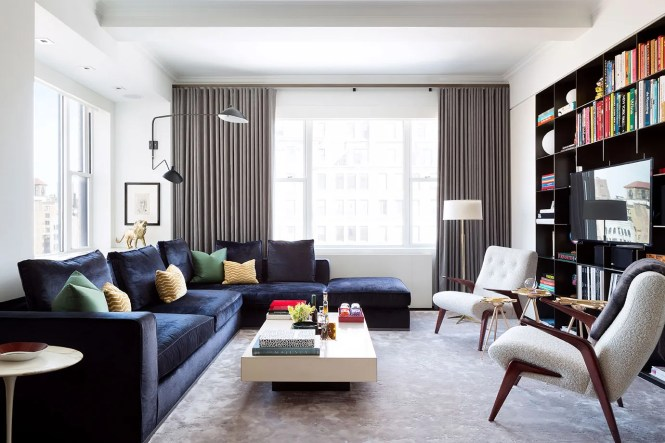 Tour A Redesigned Prewar New York Apartment Architectural