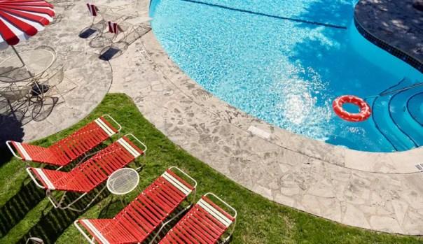 The Austin Motel pool.