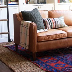 How To Clean Big Living Room Rugs Modern Decorating Ideas Uk A Rug Area Oriental And More Designer Jenny Komenda S Where Red Blue Statement Inspired The Rest Of