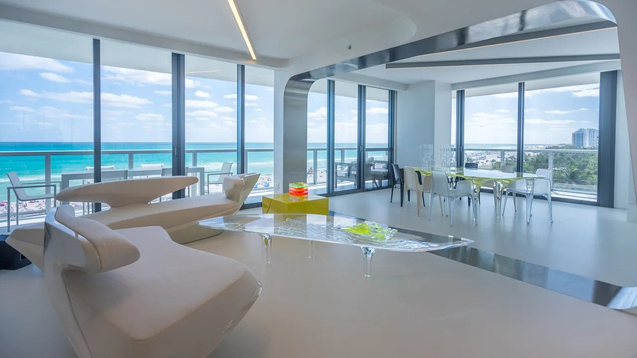 Zaha Hadids Private Miami Beach Home Is On The Market For