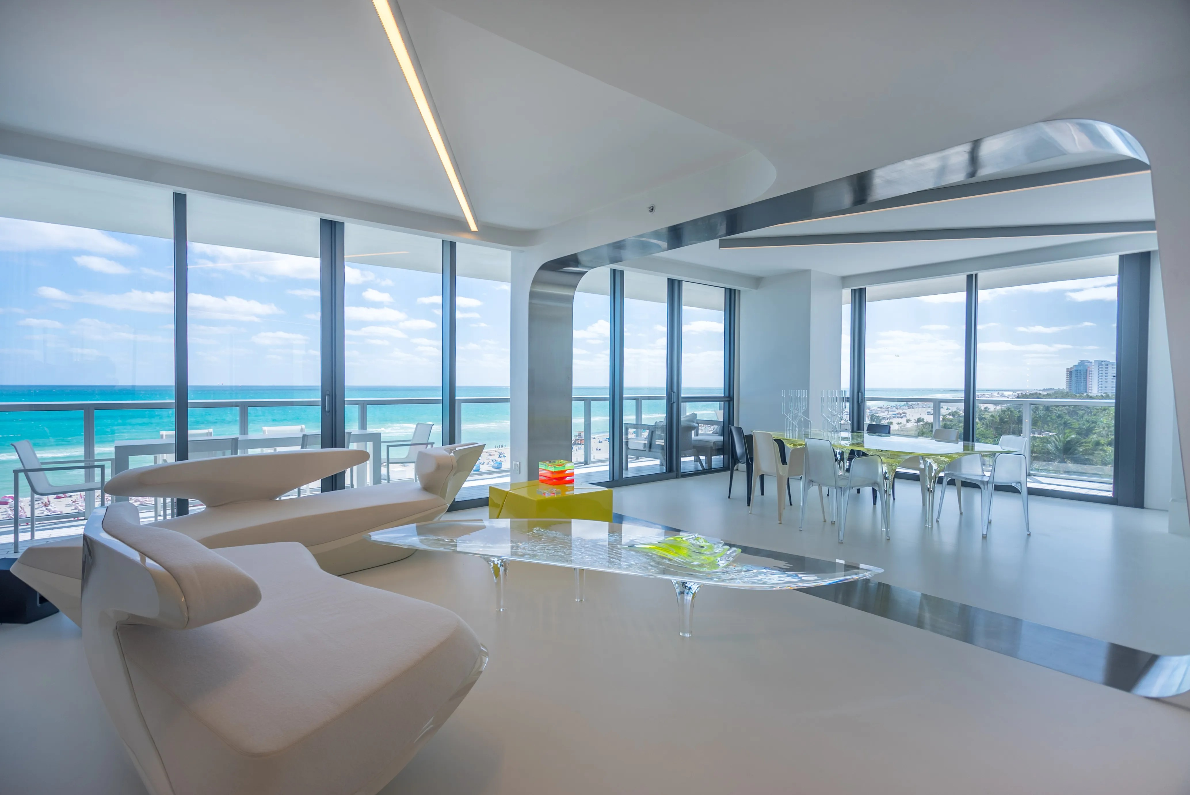 hotels in miami with kitchen sink light fixtures zaha hadid 39s private beach home is on the market for