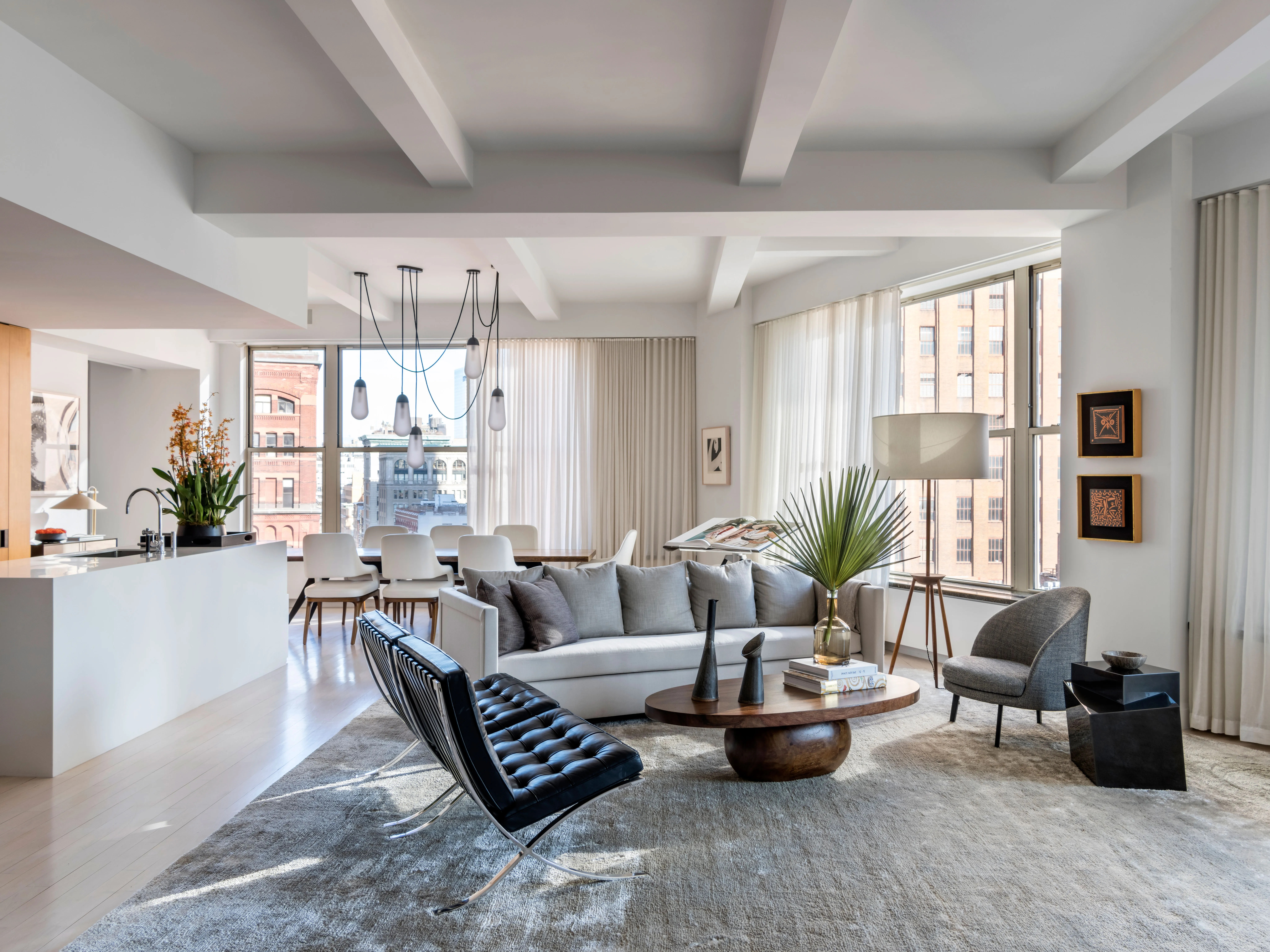 A Hollywood Power Couples Tailored New York Apartment  Architectural Digest