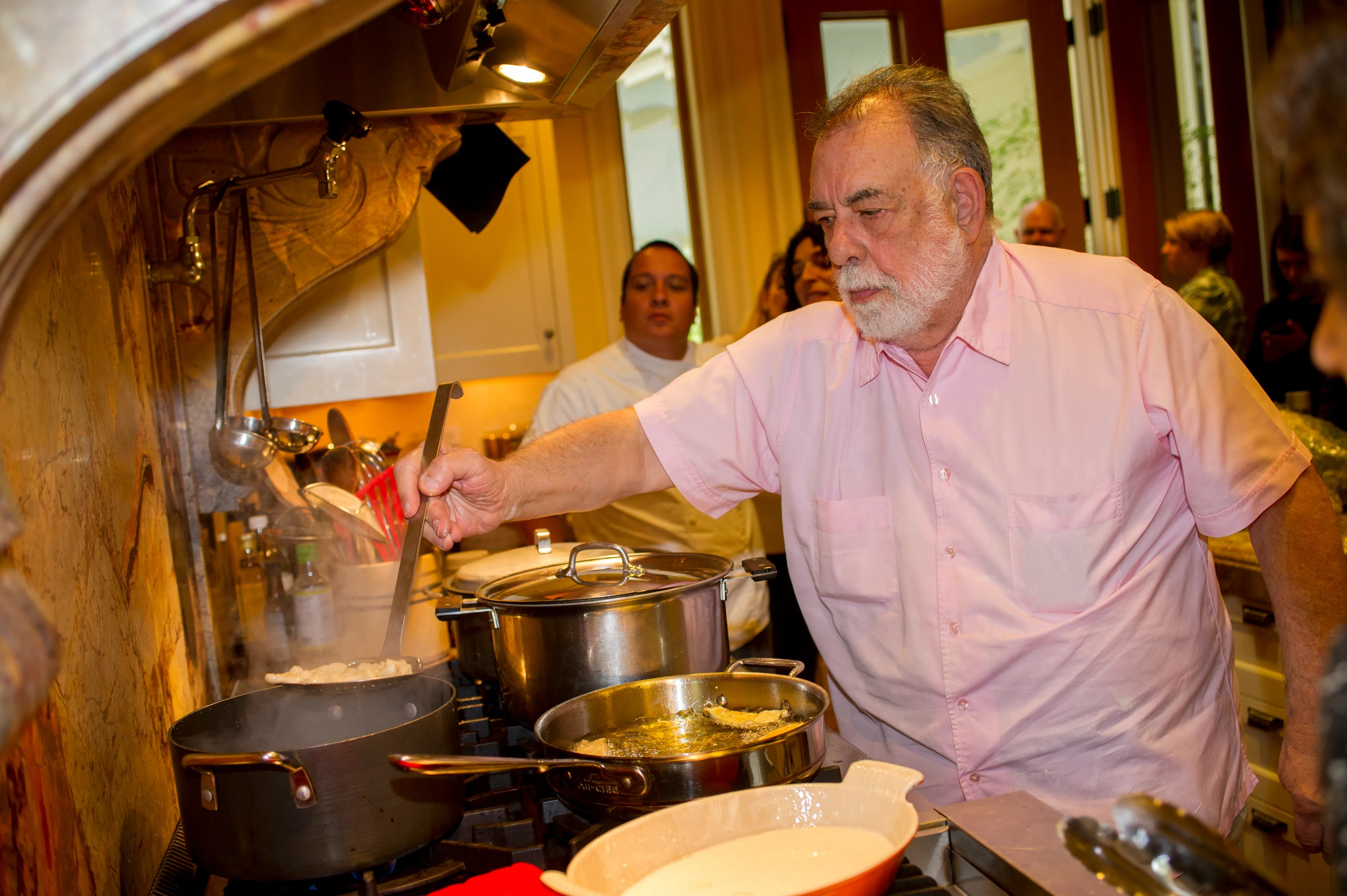 Francis Ford Coppola Is Cooking for 900 People