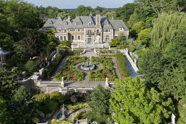 Location: Kings Point, New YorkBuilt: 1928Price: $85,000,000 Bed/Baths: 18 bedrooms, 6 full and 4 partial bathroomsSq. Footage: 14,551Lot Size: 7.7 acres