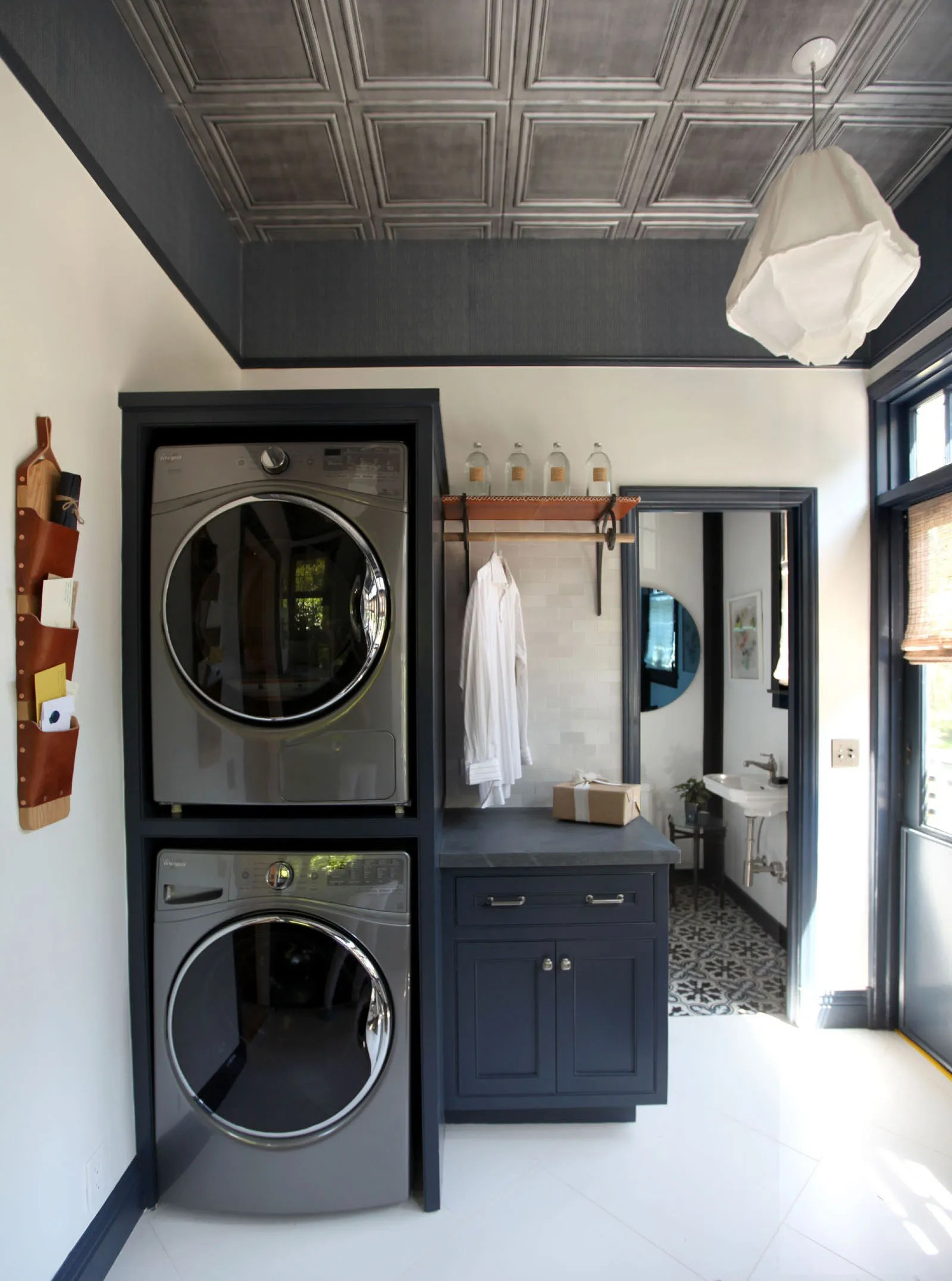 A Dreary Laundry Room Is Now a Place You Actually Want to Be  Architectural Digest