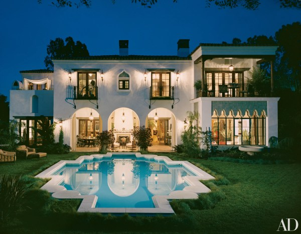Richard Landry Crafts Spanish Colonial-style Home In Los